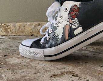 Princess Mononoke Sneakers (FanArt)
