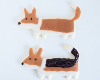 Corgi With a Tail Cookie Cutter