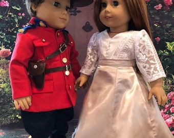 When Calls the Heart, Mounty and vintage outfit / fits American Girl type dolls