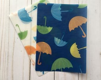 April Showers Umbrella Vellum TN Insert