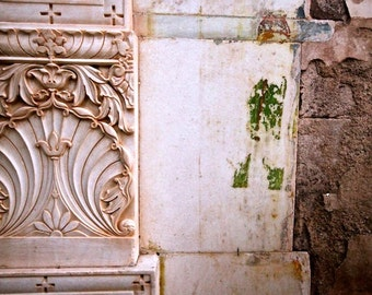 India photography, travel photography, wall art, urban decay, architecture, architecture print