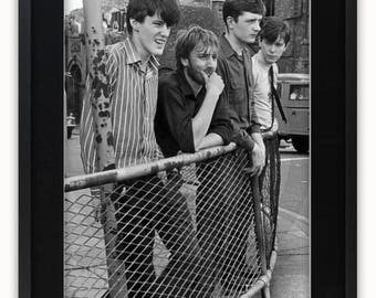 Joy Division - Stockport 28th July 1979 - Poster