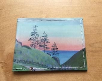 Miss Rumphius Sunset bifold wallet