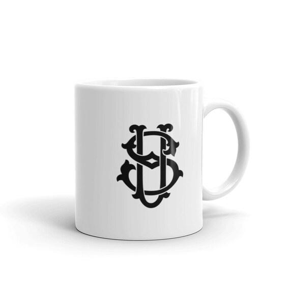 US Monogrammed Mug