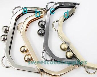 "Purse Frame, 14cm(5.5"") Purse Clasp Clutch Frame Metal Purse Frame Purse Making Supplies Wholesale(hw)"
