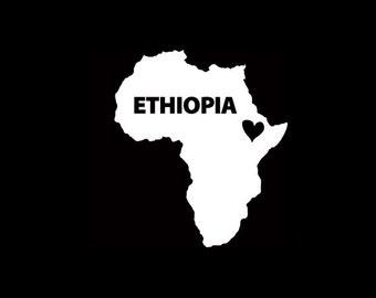 Ethiopia Window Decal