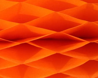 6-pack Orange Honeycomb Paper Popup Craft Pad (7 inches X 9 inches each)