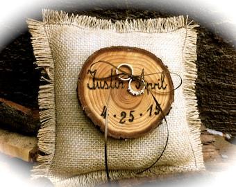 Wedding Ring Bearer Pillow