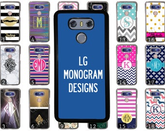 Choose from 70 Monogram / Personalized Designs Lg G4 Phone Case. LG G5 Phone Case. LG G6 Rubber Phone Case. Monogram Phone Case