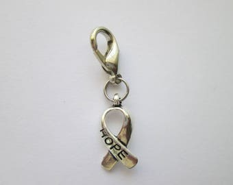 Hope Word pendant charm bracelet