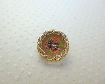 Yellow 18 mm - BCZ18 1223 Isla glass button