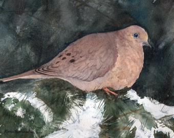 Little Dove 5x7 giclee print
