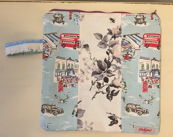 Upcycled Patch Cath Kidston Medium Project Bag