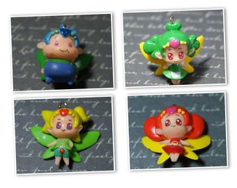 Charm Elf / fairy in resin