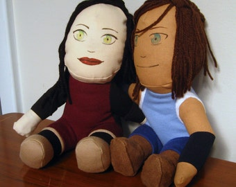Legend of Korra - Korrasami Plush Dolls [Prototype]