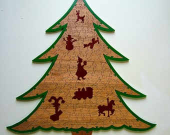 Holiday Tree Wood Puzzle