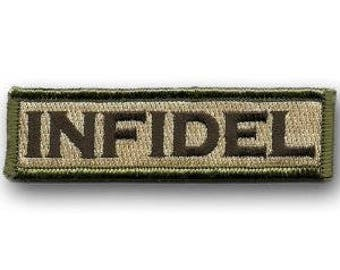 USA Infidel Tactical Morale Patch