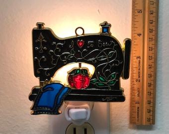Sewing Machine Night Light