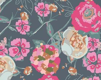 1 yard Bachelorette Garden Rocket cotton fabric from Art Gallery Fabrics newest collection bachelorette fusion