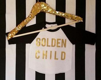 Golden Child Baseball T