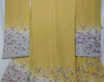 Japanese Kimono, Furisode fabric