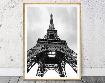 Eiffel Tower Print, Paris Wall Art, France Wall Art, Paris Photography,  Paris