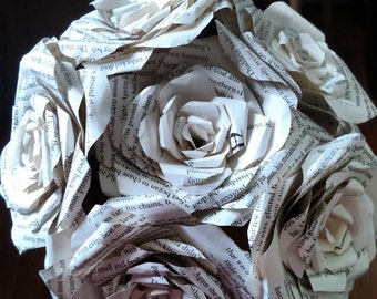 Half Dozen Book Rose Bouquet