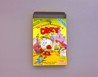 The Fantastic Adventure of Dizzy box only - NES