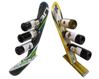 Ski Wine Bottle Rack