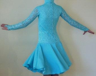 "Juvenile Ballroom Dancing Dress ""Evelyn"""