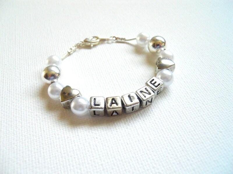 Heart Bracelet Girls Birthday Gift Toddler Bracelet Childs