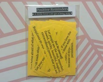 Positive Reminders Packet! (45 self help happy reminders)
