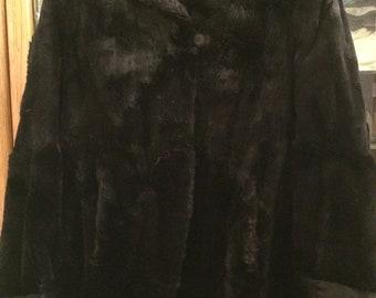 Vintage Fur Coat 1950's