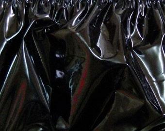 PVC Sheeting Fabric Plastic 1m Material Shiny Vinyl 4 Colours Sewable Waterproof