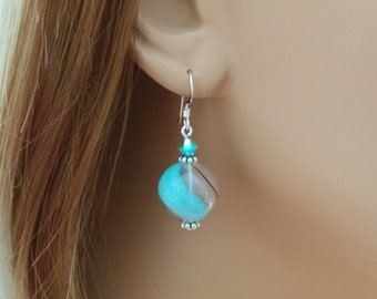 Hand Blown Glass Earrings