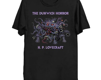 The Dunwich Horror Shirt, H. P. Lovecraft Tee, Lovecraftian Shirt, Cthulhu Mythos T-Shirt
