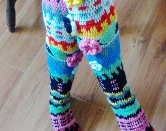 Knee socks crochet PDF pattern - INSTANT DOWNLOAD