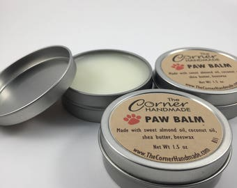 Paw Wax, Paw Balm All Natural Paw Butter Nose Balm for Pets Paw Salve for Paw Lotion Paw Pad Care Winter Paw Soother Paw Pad Cream for Dogs