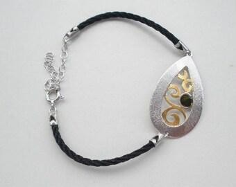 B 405sm Handmade sterling silver bracelet