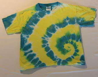 Tie-Dye Youth T- Shirt. Med