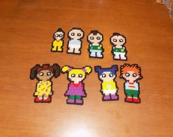 Set of 21 rugrats plastic canvas magnets