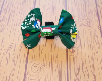 Christmas Dog Bow Tie Pet Collar Accessory M&M's