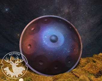Handpan F-Integral 11 from NaturePan, handmade, Cosmoss