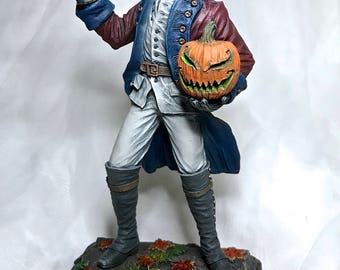 Headless Horseman Statue, Full Color