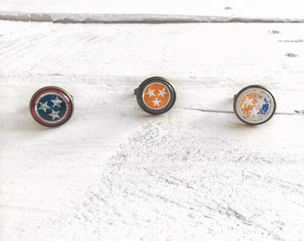 Tennessee Tri-Star Ring, Tennessee Ring, Tennessee Tri-Star, Tennessee, Tennessee Pride, Tri-Star, Statement Ring, Tennessee Jewelry
