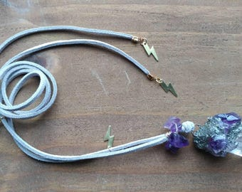Quartz Crystal Talisman || Necklace