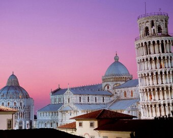 Laminated placemat Pisa Italy