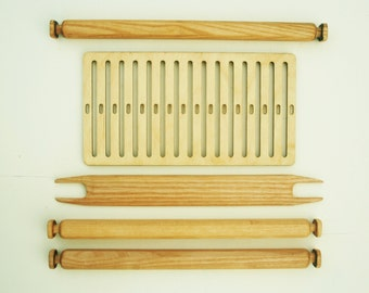 DIY weaving kit - backstrap loom, rigid heddle loom, learn to weave
