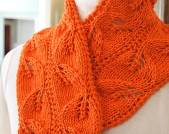 Carolyn Scarf Knitting Pattern