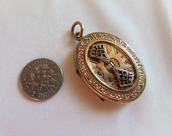 Antique Victorian Gold Filled Locket